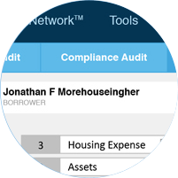 Mortgage quality control software compliance audit