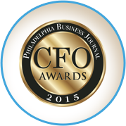 2015 Philadelphia Business Journal CFO of the Year Finalist